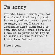 Best Apology Letter to A Friend You Hurt