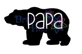 Papa Bear Svg Graphic By Britts Hits