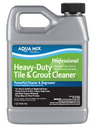 aqua mix皰 heavy duty tile grout cleaner grout cleaning just got