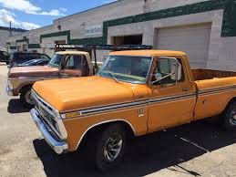 100 1976 Ford Truck Ford F250 Camper Special Yellow Orange Or Yuma Gold In Color