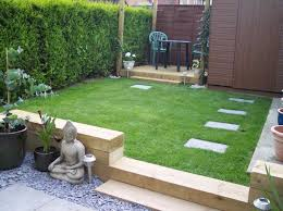 Railway Sleepers And Paved Patio Also Like The Use Of Gravel To Soften Look