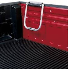 Topline TS2000-01 Silver Bed Hopper Tailgate Step Mount