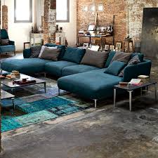Teal Living Room Set by Rolf Benz Sofa For Family Room Living Room And Home Theater