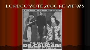 the cabinet of dr caligari 1920 movie review youtube