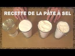 recette de la pâte à sel facile