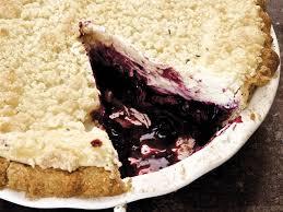 Gluten Free Blueberry Cheesecake Pie With Lavender Streusel Recipe
