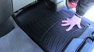 review of the weathertech front floor mats on a 2005 ford f 150