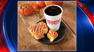 Dunkin Pumpkin Spice Donut by Pumpkin Spice Everything Lands At Dunkin Donuts Story Kdfw