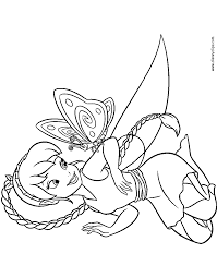 Disney Fairies Coloring Pages 2