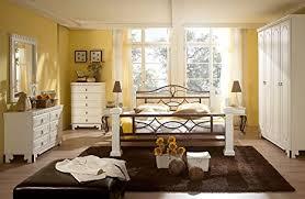 massivum byzanz schlafzimmer set holz weiß 60 x 163 x 220