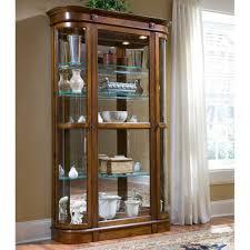Corner Curio Cabinet Walmart by Bright Glass Curio Cabinets With Lights 131 Glass Curio Cabinets