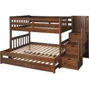 Trundle Bunk Beds with Stairs Walmart