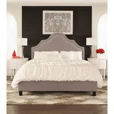 Wayfair Upholstered Queen Headboards by Homesullivan Beauvais Grey Full Upholstered Bed 40e377b012w 3a
