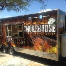 Sweet Magnolia Smokehouse - Phoenix Food Trucks - Roaming Hunger Fathom Go Behind The Food Truck A Recipe For Spanish Pork The Renaissance Where Yat Trucks Catering Salt Block In Harwich Hub How To Start A Winnipeg Canada Heart Is Where Good Food Kings Layer Facebook Just Words Mumbais Festival Dog Treat East Greenbush Ny Mugzys Barkery Why Chicagos Oncepromising Truck Scene Stalled Out Season Boston See Who And Get Lunch From Bon Mes New Brick Mortar Restaurant Enemy Kitchen By Michael Rakowitz At Mca Chicago Museum Of