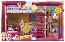mattel t7534 barbie sisters sleeptime bedroom and stacie doll set