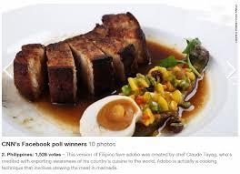 best international cuisine cuisine is s 2nd best cnn poll inquirer lifestyle