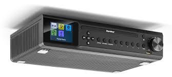 karcher ra 2060d b unterbauradio mit cd player dab ukw radio je 30 senderspeicher usb zur mp3 wiedergaber bluetooth wecker dual alarm