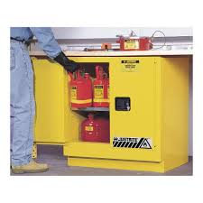 Flammable Safety Cabinet 30 Gallon justrite flammable safety cabinet 22 gal yellow 1ynf9 892320