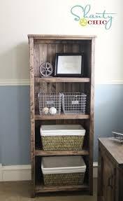 Ana White Kentwood Bookshelf Plans By Shanty2Chic