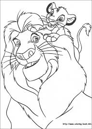 Download Or Print These Amazing Lion King Coloring Pages