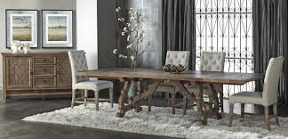 haute 5 piece formal dining set rustic dining room miami