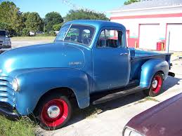 1951 Chevy 3600 5 Window P/u Truck All Orig Drive Train Runs& Drives ...