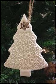 Christmas Tree Ornaments Crafts Photos Rustic Salt Dough Ornament With Simple Swirl Imprint 2018