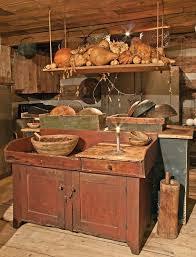 Primitive Decor Kitchen Cabinets by Brilliant Primitive Kitchen Cabinets And 1635 Best Kitchens