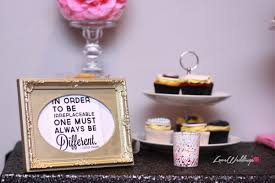 Bridal Shower Qoutes by Titis Chanel Themed Bridal Shower Quotes Partito By Ronnie Loveweddingsng Png