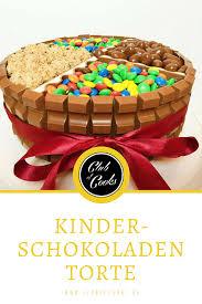 eine torte der superlative mit kinderschokolade m m s