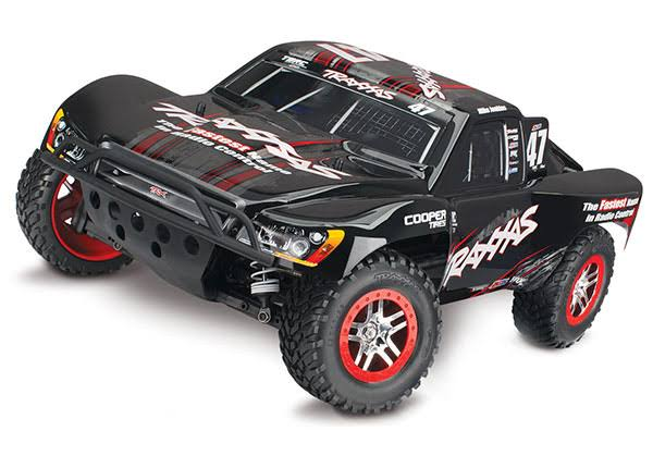 Traxxas Mike Jenkins Slash 4X4: 1/10 Scale 4WD Electric Short Course T