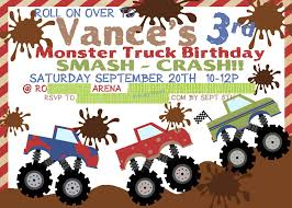 Monster Truck Ticket Birthday Invitations | Party Invitations ... Monster Truck Party Printables Set Birthday By Amandas Parties Invitation In 2018 Brocks First Birthday Invite Car Etsy Fire Invitations Tonka Envelopes Engine Online Novel Concept Designs Jam Free British Decorations Supplies Canada Open A The Rays Paxtons 3rd Party Trucks 1st 2nd 4th Ticket Iron On Blaze And The Machines Baby Shark Song Printable P