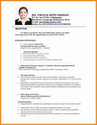 Sample Resume Registered Nurse Philippines