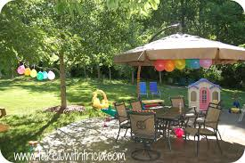 Rainbow Birthday Party | Take 10 With Tricia Backyards Awesome Decorating Backyard Party Wedding Decoration Ideas Photo With Stunning Domestic Fashionista Al Fresco Birthday Sweet 16 Outdoor Parties Images About Paper Lanterns Also Simple Garden Rainbow Take 10 Tricia Indoor Carnival Theme Home Decor Kid 39s Luau Movie Night Party Ideas Hollywood Pinterest Design Deck Kitchen Architects Deck Decorations For Anniversary