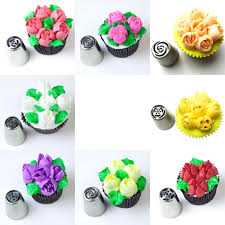 Cakes Decorated With Russian Tips by Russian Icing Piping Nozzles 12pcs Tips Stainless Steel Cake