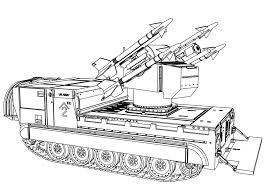 Tanks Coloring Pages Croke Funycoloring