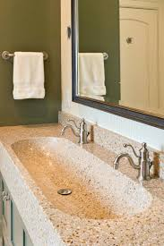 Double Faucet Trough Sink Vanity by Sinks Trough Bathroom Sinks Sink Vanity Top 48 With Two Faucets