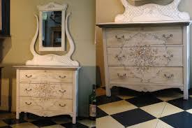 Waterfall Vanity Dresser Set by Bedroom Maple Dresser With Mirror Tiger Wood Dresser With Mirror