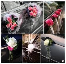 idées decoration voiture mariage