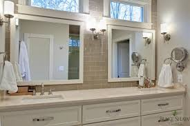 taupe subway tile contemporary bathroom shaw homes