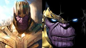 Fan Compares Thanos Movie Costume To His Comic Costume