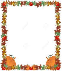 Fall Leaf Border Clip Art 18