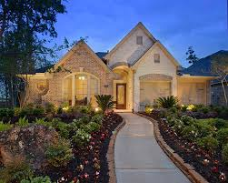 Large One Story Homes by New One Story Home Houston Superior Construction Homes Large