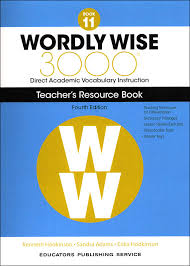 Wordly Wise 3000 4th Ed Book 11 Nav