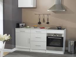 meuble bas cuisine meuble bas de cuisine en bois avec tiroir et porte simply blanc 60cm