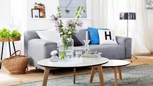 nordic style fürs wohnzimmer moderne formen softe farben