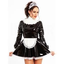 honour clothing h2250 pvc melody maid dress bananashoes