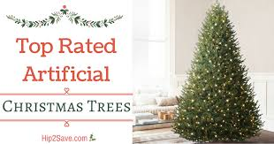Kohls Artificial Christmas Trees by Top Rated Artificial Christmas Trees U2013 Hip2save