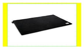 joop badteppich luxury schwarz 50x60 cm