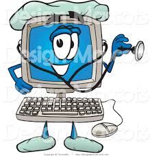 Medical Computer Free Clipart